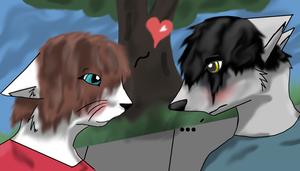 Koja and Kimi contest entry by Hawkheart1