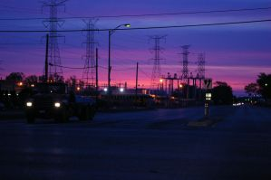 Way to work at 5:00 am by i-likethis