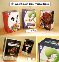 Super Smash Bros. Trophy Boxes by NBros