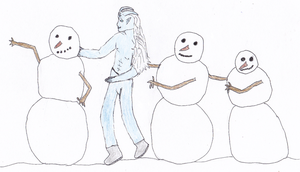 Snowman Conga For Mavrosh by RilwenShadowflame