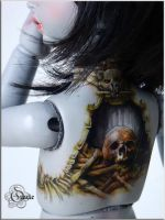 Macabre tattoo I by Follow-the-Wind