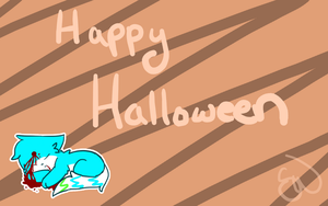 Halloween Sol Wallpaper by Solthewolf