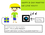 Late 4 Inthelittlewood's B-day... by ToonPrincessZeldaFan