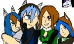 Early B-day gift: Family photo by DarkGlacialKnight
