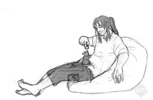 chubby Kili for pabu by Mhyin