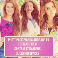 Photopack Bianca Andrade #1 by ClickPhotopacks