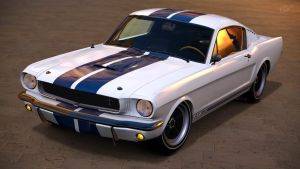1965 Ford Mustang Shelby GT350 (Gran Turismo 6) by Vertualissimo