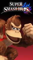 Smash 4 Wallpaper (Phone) - Donkey Kong by TheWolfGalaxy