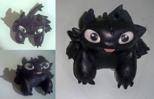 Baby Night Fury - Toothless by paulares13