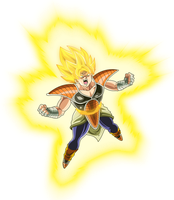 Super Saiyan Kakarot Dragon Ball Sai by MAD-54