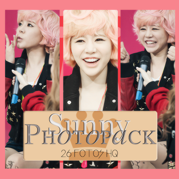 Photopack Sunny- SNSD 016 by DiamondPhotopacks