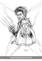 WOLVERINE 4 - PENCILS by DSNG