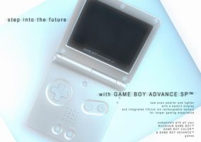 The GB Evolution: GBA SP 1 by sh4dow