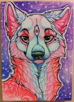 Iron Artist Challenge ACEO 31 by nightspiritwing