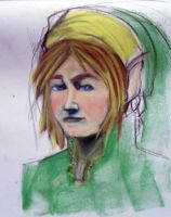 Finished Link Sketch by CoreyBass