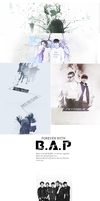 [COVERPOSTER]FOREVER WITH B.A.P - FOREVER WITH SIX by yooyoungdory99er
