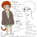 Mykal : UT OC Concept by KingSomeone