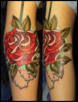 Rose. by molotov-tattoo