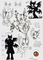 Shuffle Character Design by Grim-Amentia