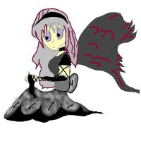 gothic anime fairy by lady5430