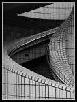 Hong Kong Mono Staircase 01 by tmfNeurodancer