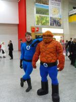 May Expo 2012 Fantastic four by Uncharted-Deception