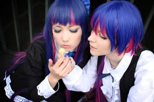 Stocking: Candy-sharing by NorFrosch