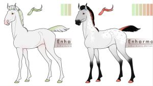 Equus Ballator Foal Concepts by IndigoCharger
