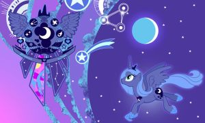 Luna New Wall by Evilarticfox