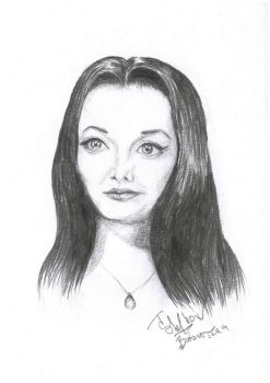 Morticia by Crystiee