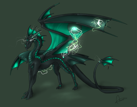 Electric Dragon by Wiiolis