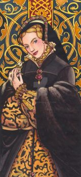 Tudor Lady No.9 by rinaswan