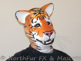 Large Wild Cat Muzzle - Tiger by NorthFurFX