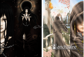 Artbook Cover .:: Sanctuaire ::. by DameOdessa
