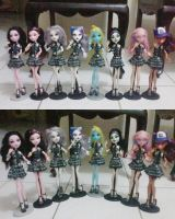 JKT 48 Monster High dolls by seawaterwitch