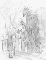 One of my bird creatures by The-Brave-Kitten
