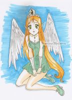 angel by theredprincess