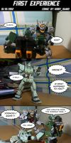 Gunpla comic: First experience by HiroyRaind