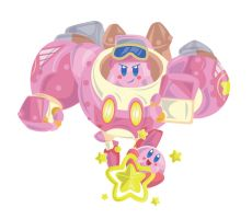 Kirby Planet Robobot - More to Come by OddPenguin