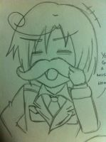 APH : Romano Moostache by ChiisanaENVY