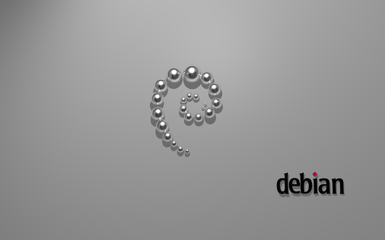 Debian silver by Ghostdmn