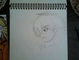Seras in progress by michule
