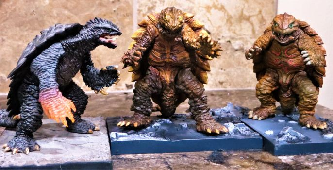 Konami Gamera Collection by Legrandzilla