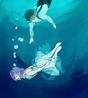 Sinking by ghostlycrab