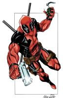 Deadpool Colored by SWAVE18