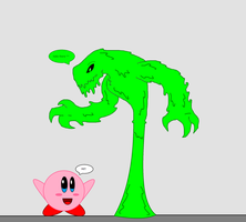 Slime Meets Kirby by 115spartan