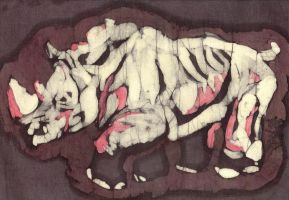 rhino batik by EatToast
