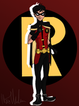 The Boy Wonder by Ollie-Out