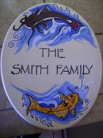 Smith Family Sign by TheHellPuppi