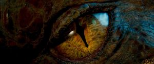 The Hobbit- Dragon Eye by Jd1680a